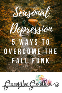 Seasonal Depression. How to overcome the winter blues. Anxiety. Fighting the fall funk.