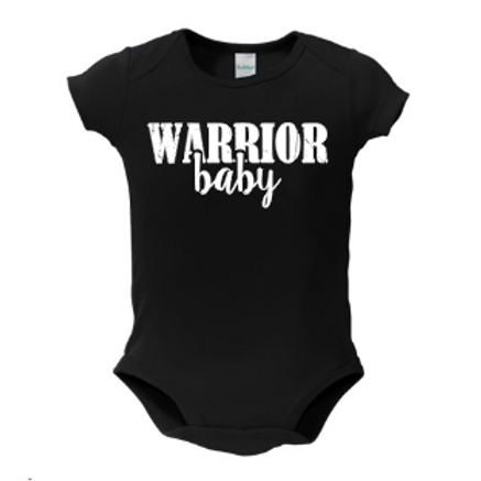 Matching Warrior Baby Onesie