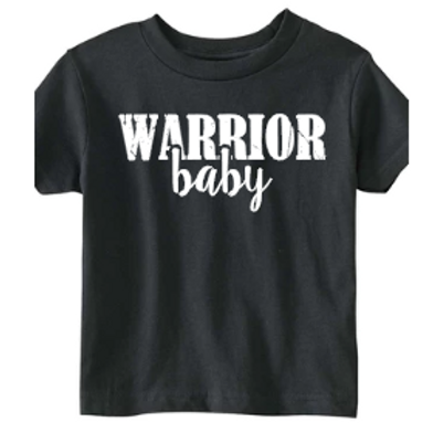 Matching Warrior Baby Toddler Tshirt