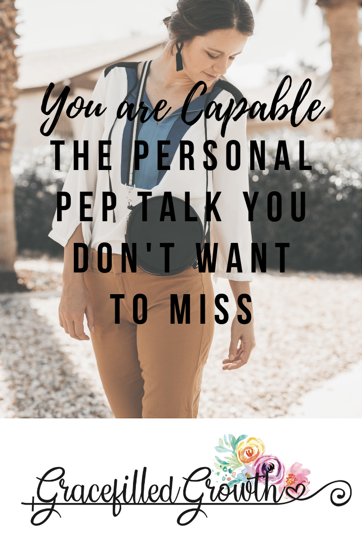 You are capable. The personal pep talk you don't want to miss. Overcoming people pleasing.