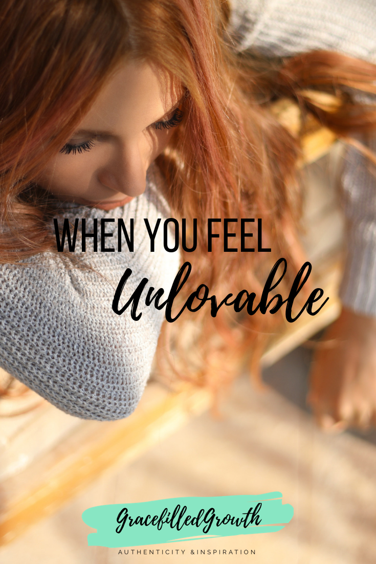 Am I unlovable? Do you feel unworthy of love? God's love goes beyond our mess. You are valued.