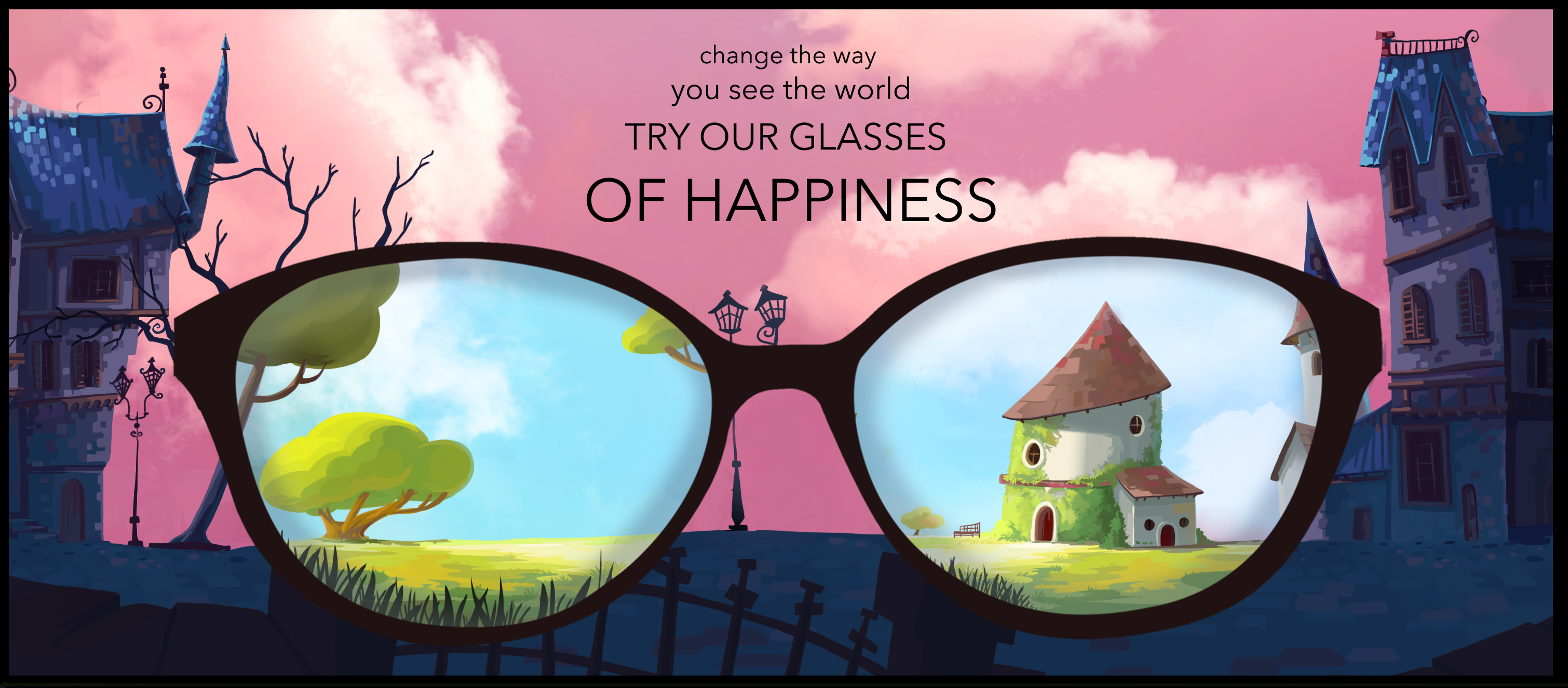 TRY OUR NEW GLASSES