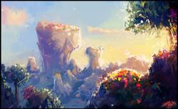 colorful plateau