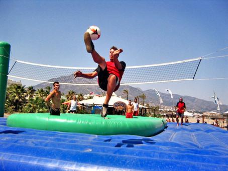 축구‧배구‧카포에라 혼합된 스포츠 '보사볼', 도쿄 올림픽서도 등장할까?