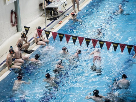 """英 수중 하키, 물속에서 하는 3차원적 전술 하키…""""무엇보다 의사소통이 중요"""""""