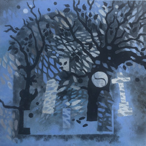 Night in Cemetery 3