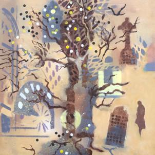 Tree and Stones 6