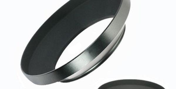 Wide angle lens hood metal 62 mm