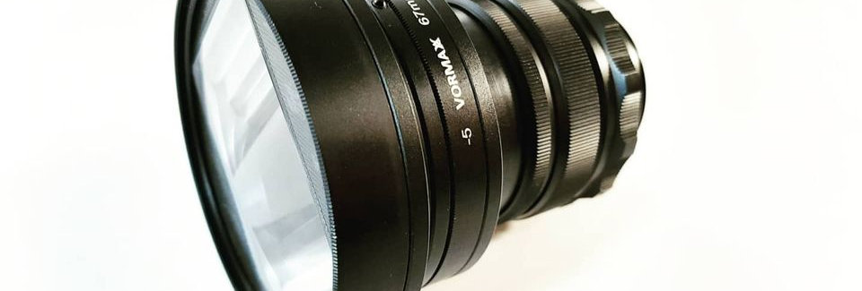 Vormaxlens 35 mm 2.8 1.33x EF-mount (Full frame)