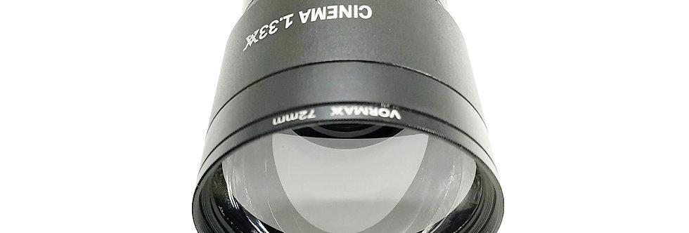 Anamorphic adapter Vormaxlens Budget 1,33x rev.3