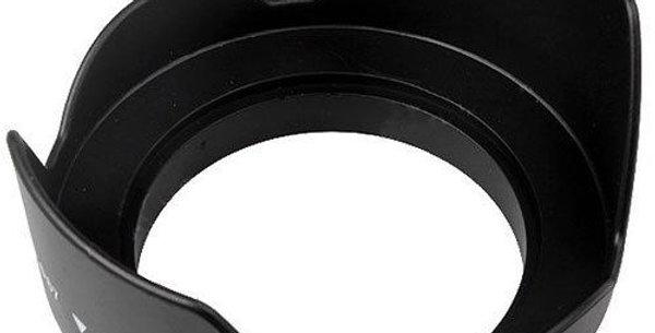 Plastic lens hood 52 mm
