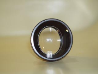 New anamorphic lens with a factor of 1.3x / Новая анаморфотная насадка.