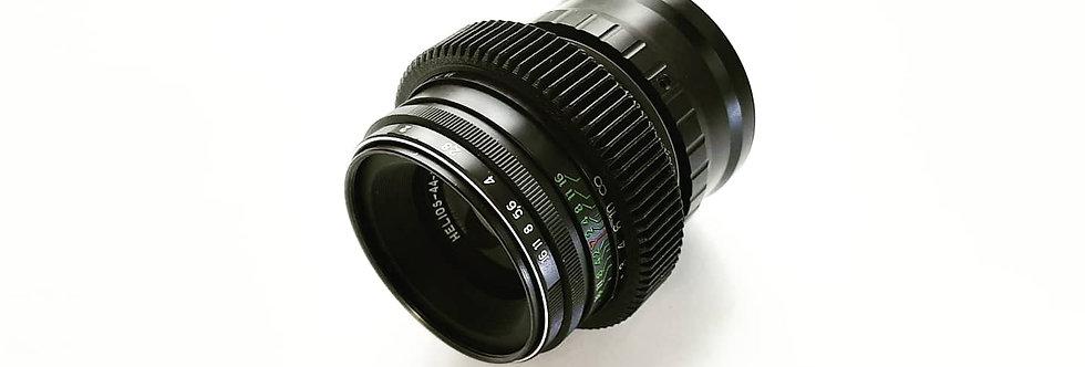 Cine Anamorphic mod Helios 44-2 nex 58mm f/2.0 beautiful bokeh e-mount