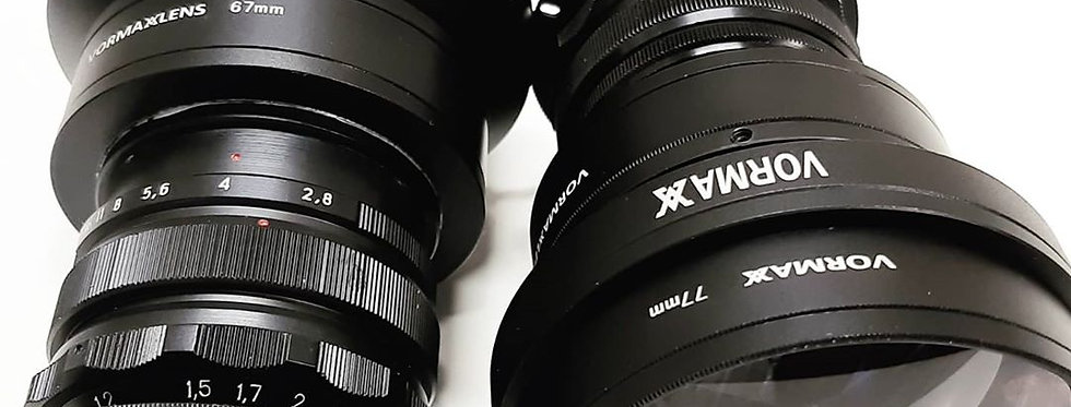 Vormaxlens 35 mm 2.8 1.33x ef-mount