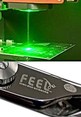 レーザーマーキング|Laser marking