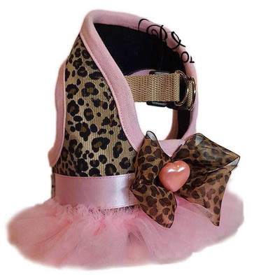 Leopard print small dog harness.jpg