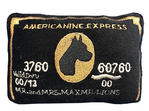 Americanine Express Bark Card