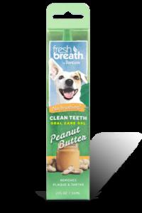 Tropiclean Fresh Breath Oral Care Teeth gel- peanut butter