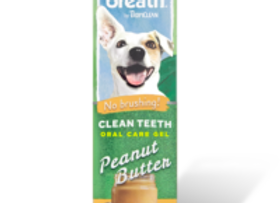 Tropiclean Fresh Breath Oral Care Teeth gel- peanut butter