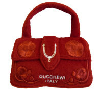 Gucchewi Red Floral Purse