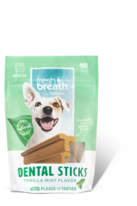 Tropiclean fresh breath- Dental Sticks - Vanilla Mint Flavor
