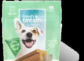 Tropiclean fresh breath- Dental Sticks - Vanilla Mint Flavor