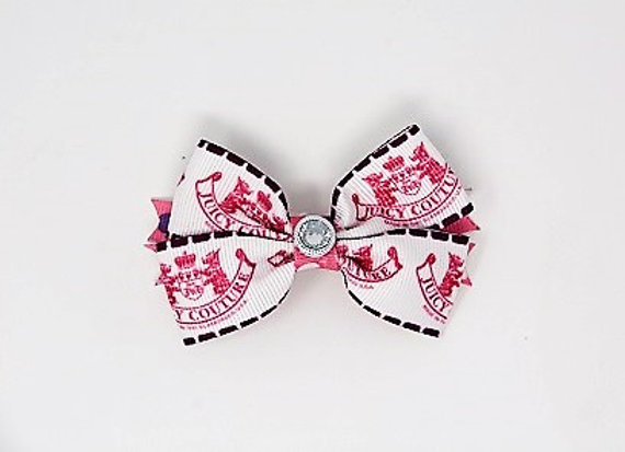 Pink Juicy Couture Bow