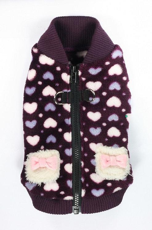 Soft Purple Heart Vest