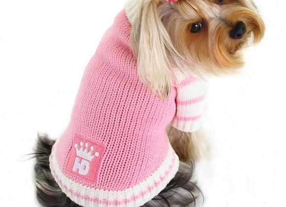 Crown Cardigan - Pink