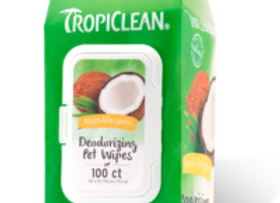 Hypoallergenic Pet Wipes