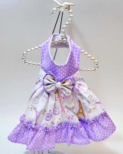 Purple Paris Dress