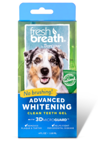 Tropiclean Fresh Breath Oral Care Teeth gel- Advanced Whitening