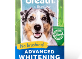 Tropiclean Fresh Breath Oral Care Teeth gel- Advanced Whitening