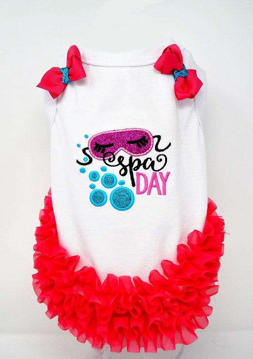 """Spa Day"" T-Shirt Dress"