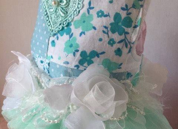 Tiffany Blue Harness Vest