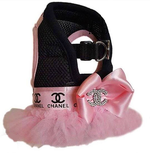 Chanel Pink Tutu Harness Dress