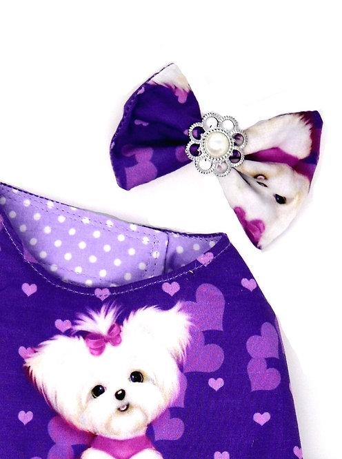Purple Maltese Dress