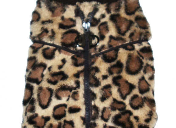 Cheetah Zipper Harness Sweater