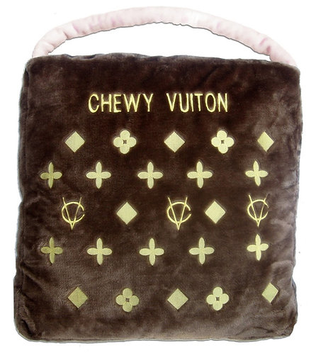 Chewy Vuitton Pet Bed