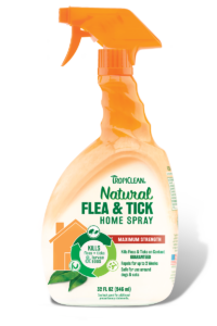 Tropiclean Natural Flea and Tick Spray for Dogs and Bedding