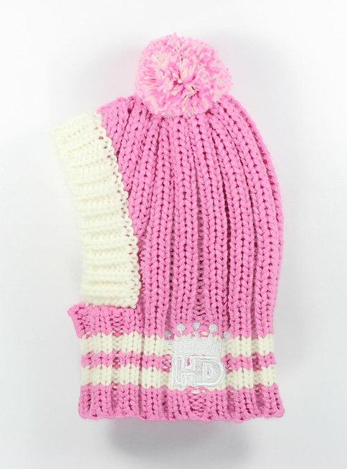 Pink Crown Hat
