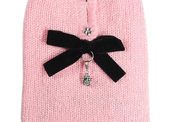 Velvet Bow Sweater