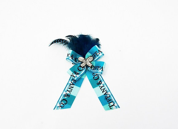 Tiffany's Feather Bow