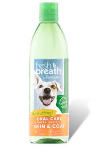Tropiclean Fresh Breath Oral Care Water Additvie- Skin and Coat