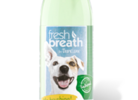 Tropiclean Fresh Breath Oral Care Water Additvie- Skin and Coat