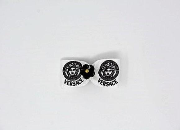Versace Black Flower Boutique Bow