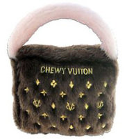 Chewy Vuiton Purse, Brown Small