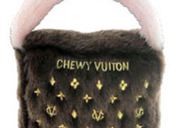 Chewy Vuiton Purse, Brown Large