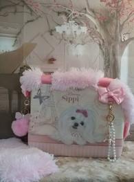 Designer Luxury Maltese Pet Carrier.jpg