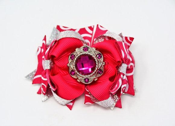 Pink Jewel Bow
